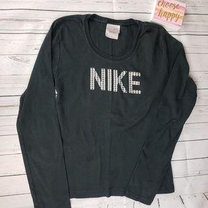 Nike Black Long Sleeve TShirt